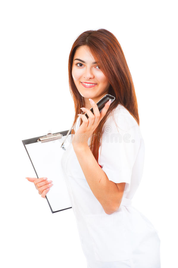Young Woman Doctor Stock Images