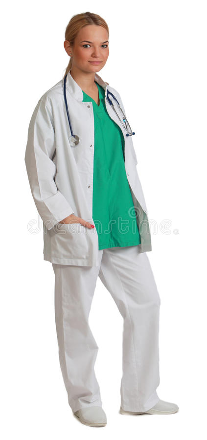 Download Young Woman Doctor stock image. Image of clinic, blonde - 27432011