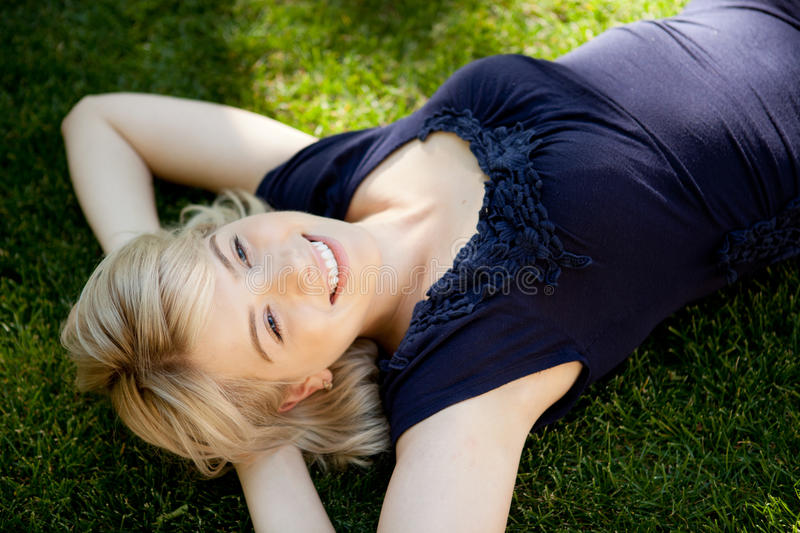 Young Woman Dream royalty free stock photo