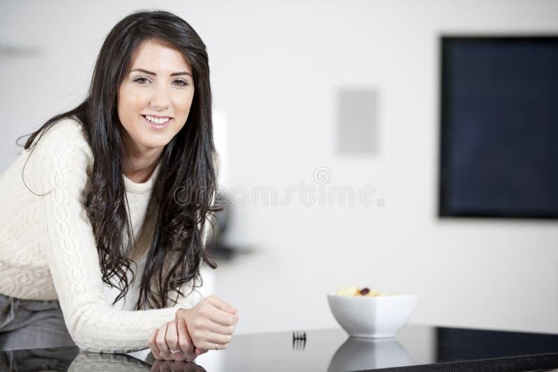 Download Young Woman Enjoying Breackfast Stock Image - Image: 25152377