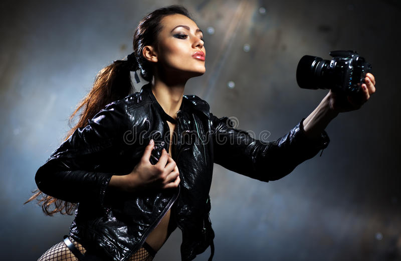 Download Young Woman Fashion Portrait Stock Image - Image: 27762649