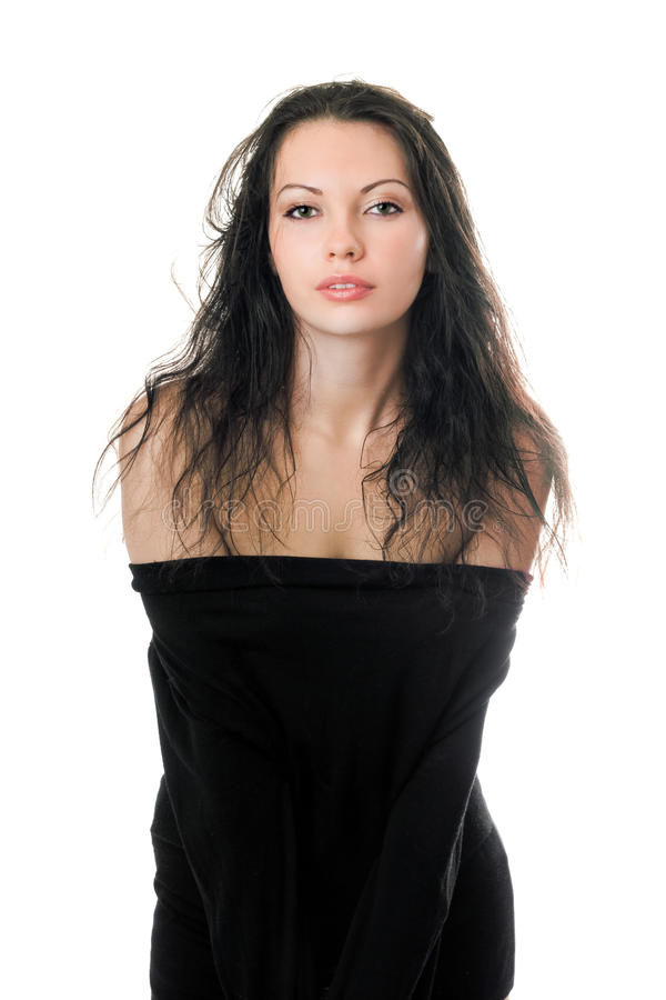 Download Young Woman With Flowing Hair Royalty Free Stock Photo - Image: 21658705
