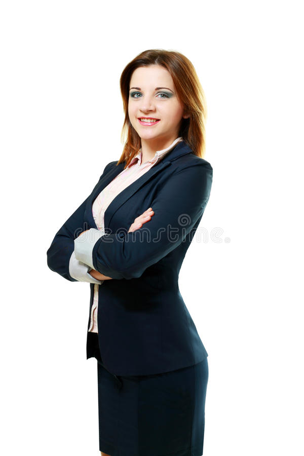 Download Young Woman With Folded Arms Royalty Free Stock Photography - Image: 27787877