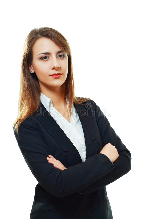 Download Young Woman With Folded Arms Stock Images - Image: 28384064