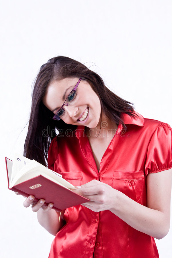 Young Woman In Glasses Royalty Free Stock Images