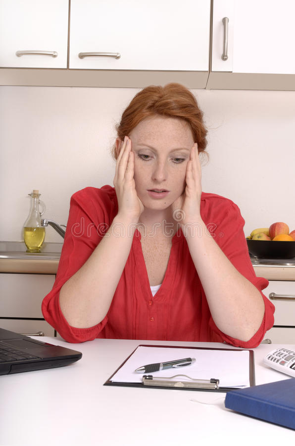 Download Young Woman Has Problemes And Is Sad Stock Image - Image: 35573001