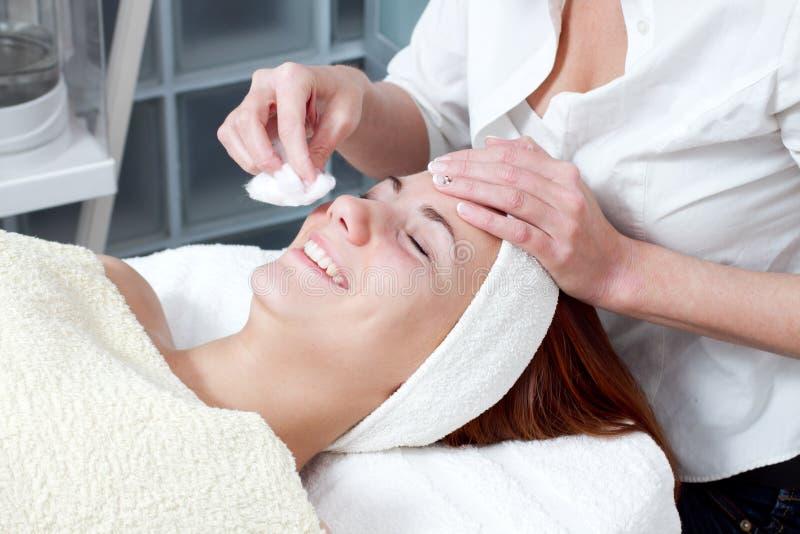 Download Woman Having Facial Beauty Treatment Stock Image - Image of facial, caucasian: 29974569