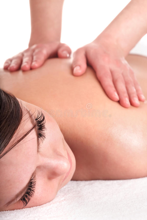 Download Young Woman Having  Massage. Stock Photography - Image: 15308762