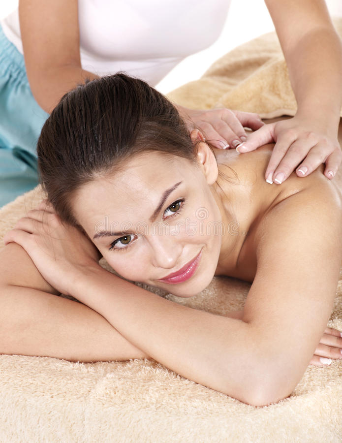 Download Young Woman Having Massage. Stock Image - Image: 24372203