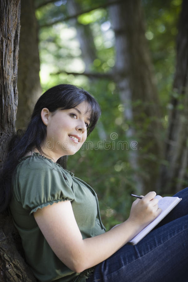 Free Young Woman In Woods Stock Photo - 11125760
