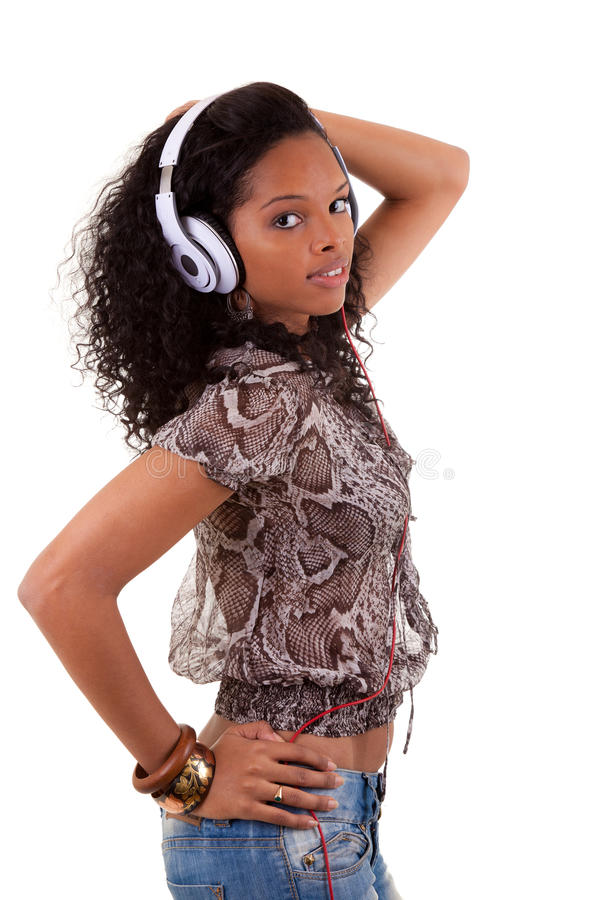 Download Young Woman Listening To Music Royalty Free Stock Photo - Image: 19425215