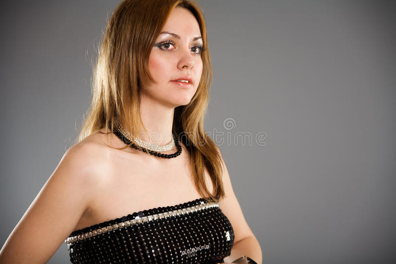 Download Young Woman With Long Eyelashes Stock Photo - Image: 19397676