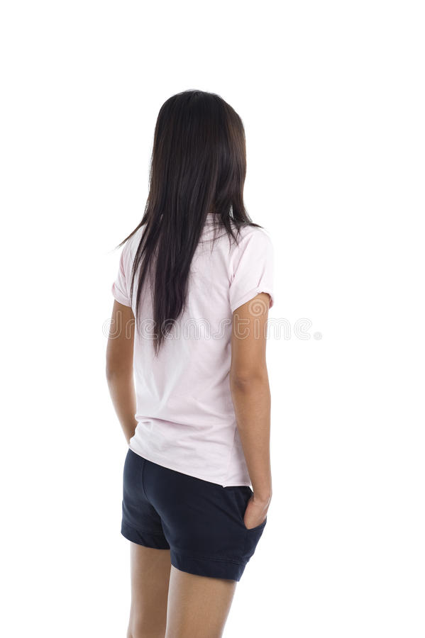 Download Young woman looking away stock image. Image of woman - 16215591