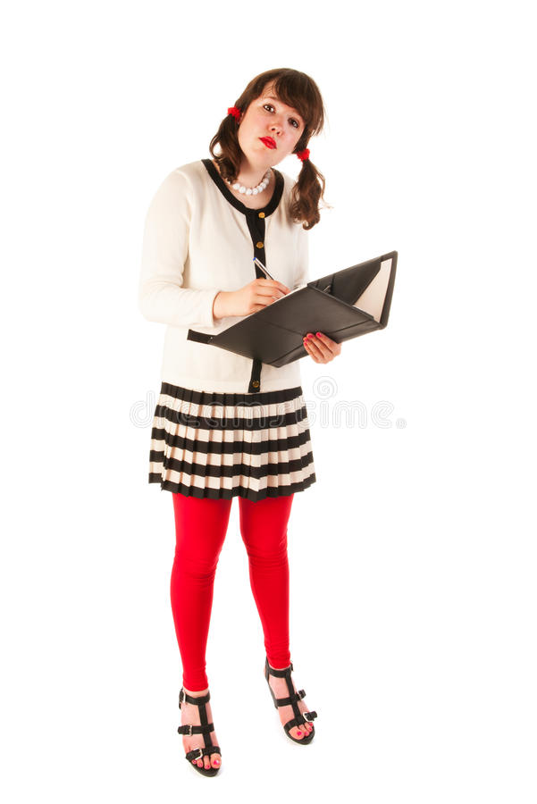 Young Woman At The Office Royalty Free Stock Image