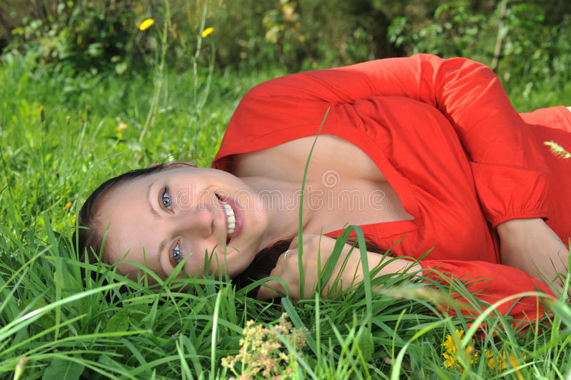 Download Young woman outdoor stock photo. Image of people, beauty - 10990574