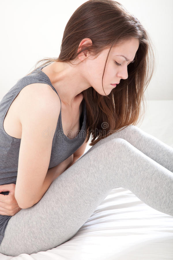 Download Young woman in pain stock image. Image of diet, pain - 33285579