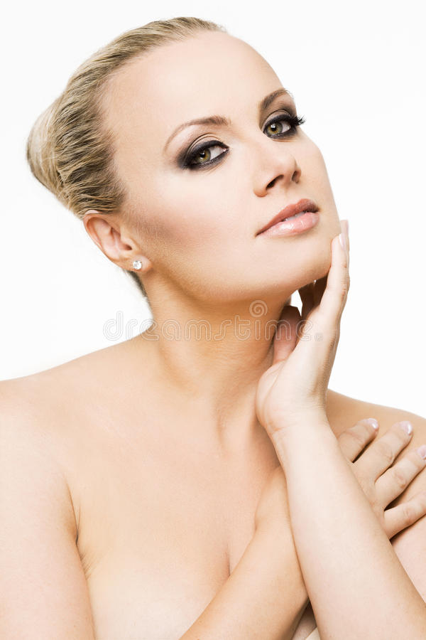 Download Young Woman With Perfect Skin And Makeup. Royalty Free Stock Photography - Image: 32337487