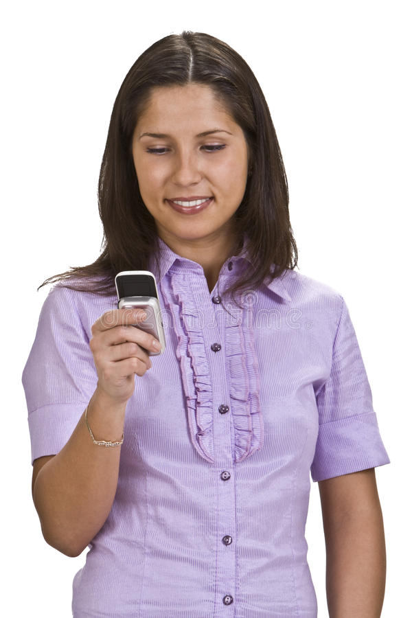 Download Young Woman On The Phone Royalty Free Stock Photos - Image: 10938128