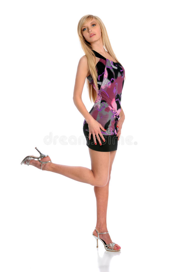 Young Woman Posing stock images