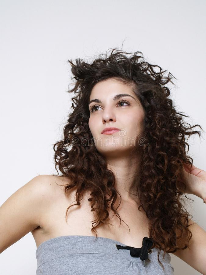 Download Young woman posing stock image. Image of caucasian, close - 26492883