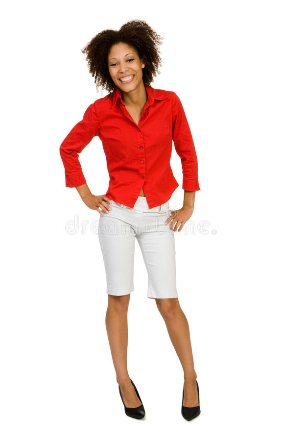 Young woman posing stock photos