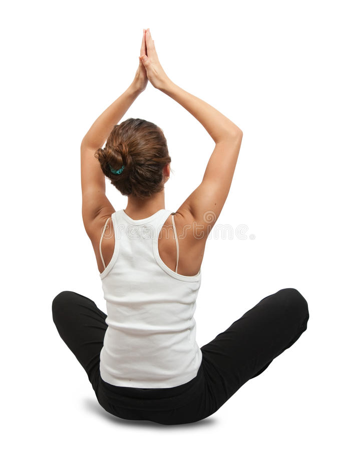 Download Young Woman Practicing Yoga Stock Images - Image: 12537034