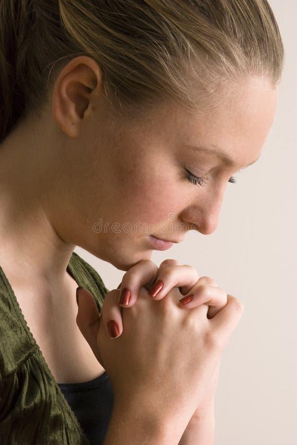 Download Young Woman Praying stock image. Image of praying, prayer - 6756915