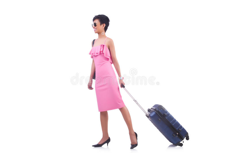 Download Young woman stock photo. Image of asian, beautiful, backpack - 32587000
