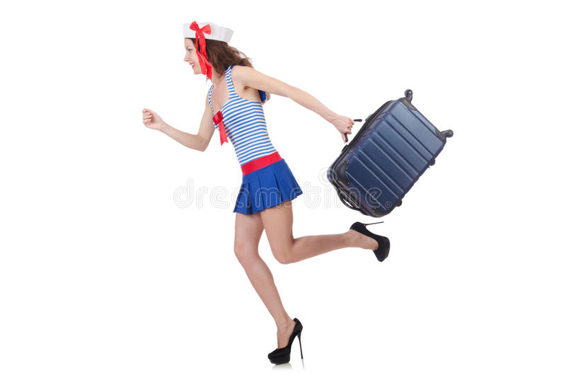 Download Young woman stock photo. Image of girl, business, case - 32587066