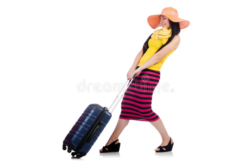 Download Young woman stock photo. Image of isolated, case, person - 32587086
