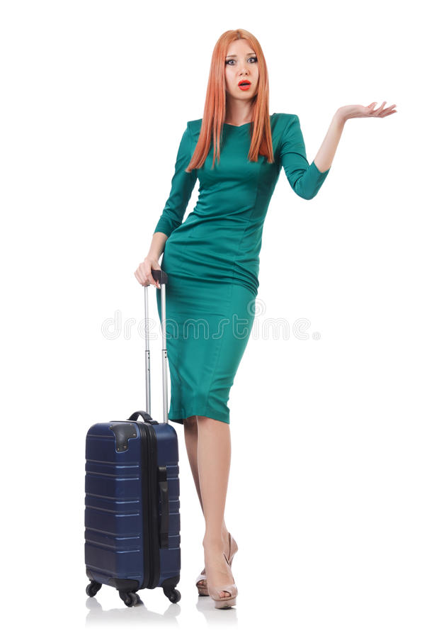 Download Young woman stock image. Image of person, adult, packing - 32812605