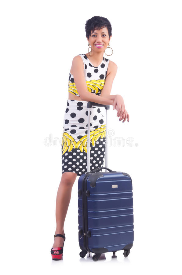Download Young woman stock photo. Image of background, case, adult - 33136238