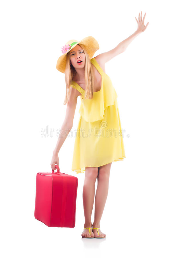 Download Young woman stock image. Image of teenager, airport, holiday - 33222395