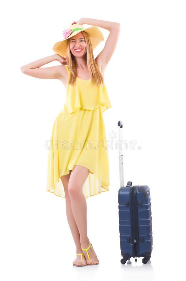 Download Young woman stock image. Image of business, packing, rucksack - 33222403