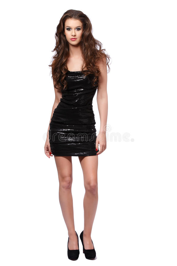 Download Young Woman Ready For The Party Stock Photo - Image: 25521214