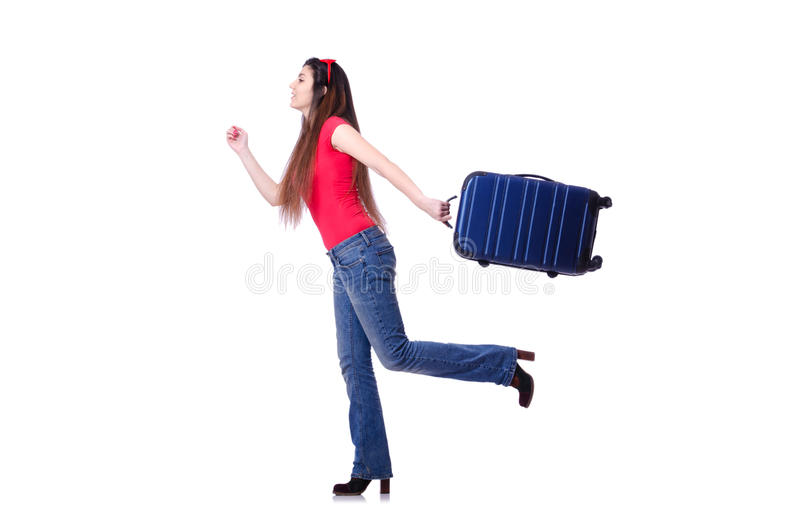 Download Young Woman Ready For Summer Vacation Stock Photo - Image of holiday, modern: 31039640