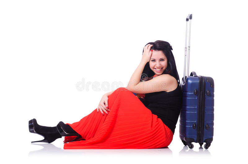 Download Young Woman Ready For Summer Vacation Royalty Free Stock Image - Image: 31039686