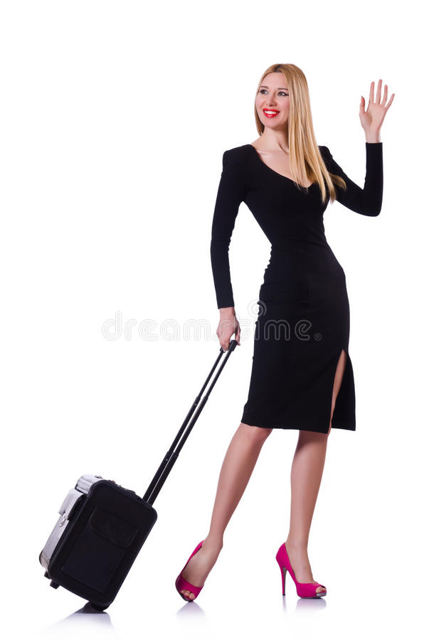 Download Young Woman Ready For Summer Vacation Royalty Free Stock Images - Image: 31181289