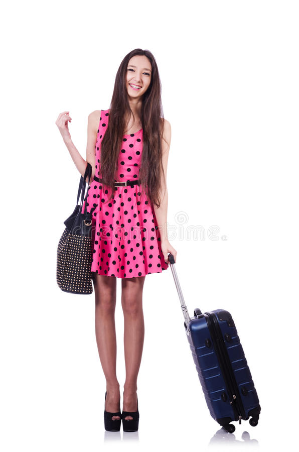 Download Young Woman Ready For Summer Vacation Stock Image - Image: 31457519