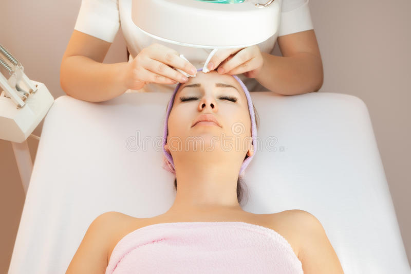 Beauty therapy stock photography