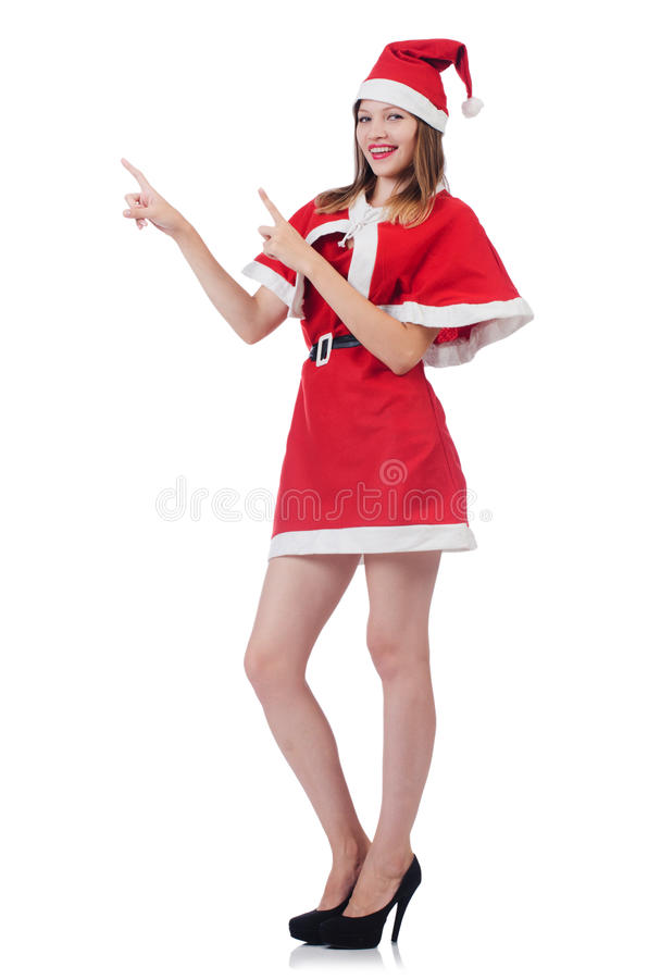 Download Young woman stock image. Image of costume, claus, holiday - 36991095
