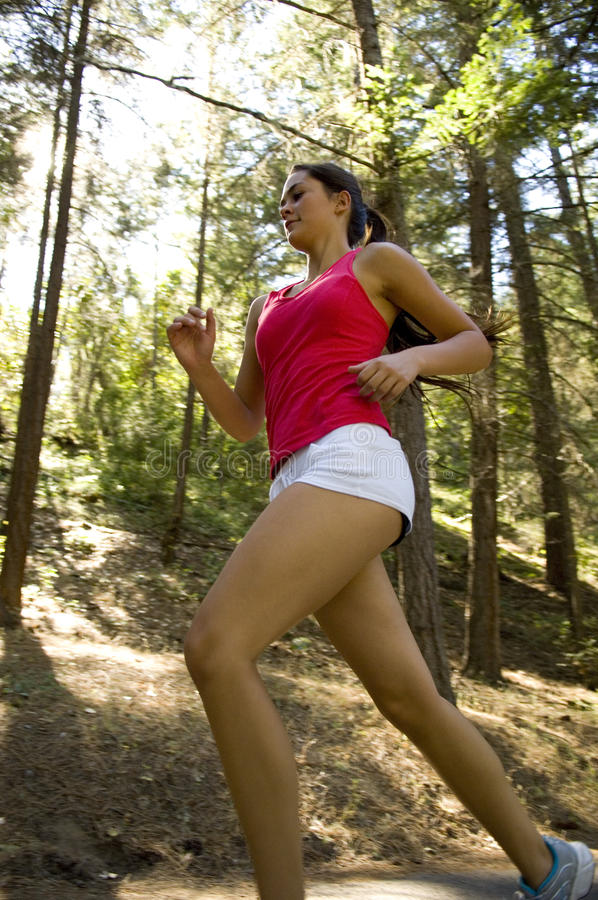 Download Young woman runner stock image. Image of attractive, activity - 20307715