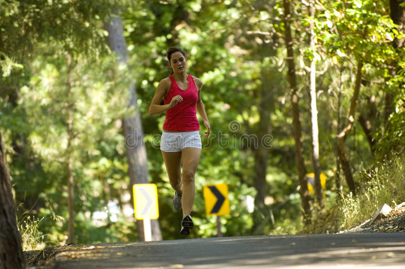 Download Young woman runner stock photo. Image of beautiful, lifestyle - 20307766