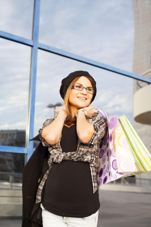 Download Young Woman Shopping Royalty Free Stock Photos - Image: 35999548