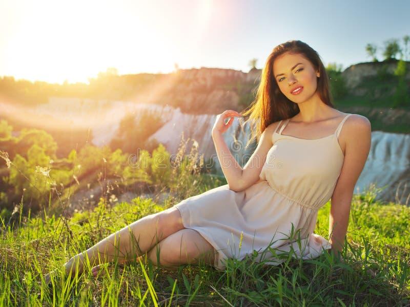 Wallpaper girl, dress, legs, photo, photographer, blue