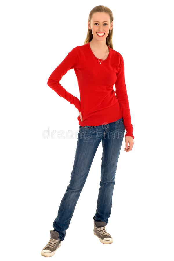 Download Young woman smiling stock photo. Image of smiling, female - 11676588