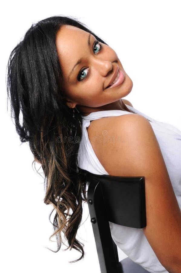Young Woman Smiling stock photos