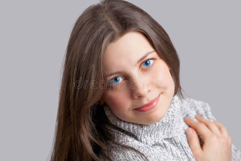 Download Young woman smiling stock photo. Image of modern, look - 31620910