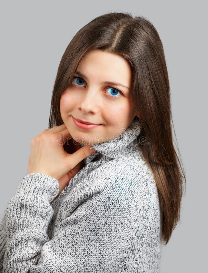 Download Young woman smiling stock photo. Image of female, happy - 31620912