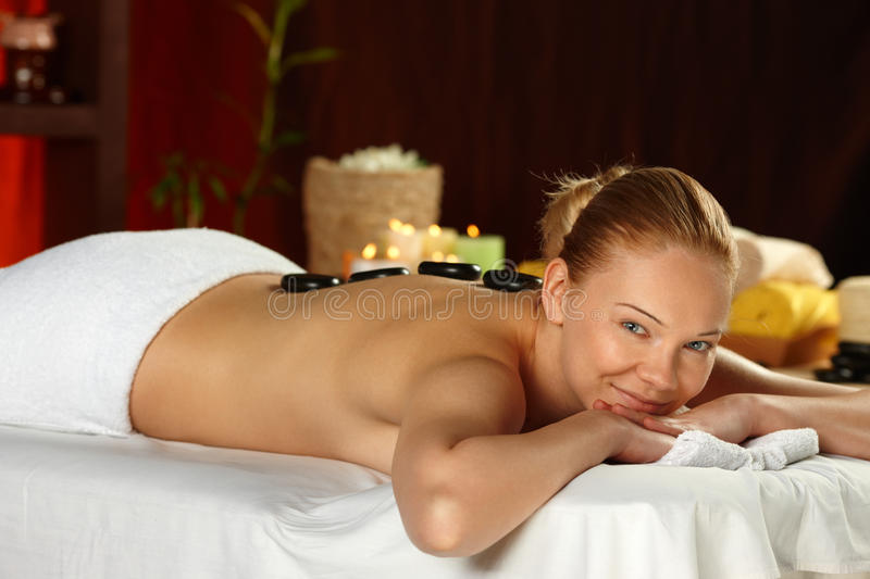 Download Young Woman On Spa Treatment Stock Image - Image: 32400617